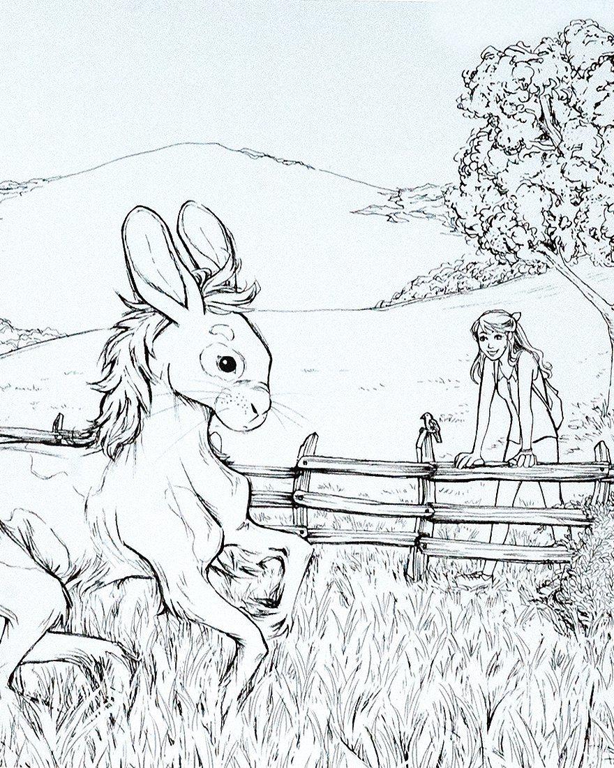 Kolorowanka Portal Do Innego Swiata By Olsikowa Drawings Fictional Characters Art