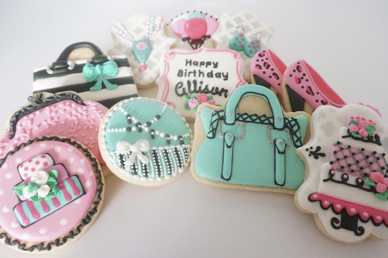 Birthday sugar cookies sugar cookies decorated sugar