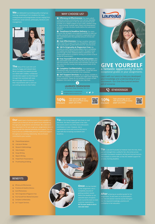 Tri Fold Brochure Design  Brochure Design    Tri Fold