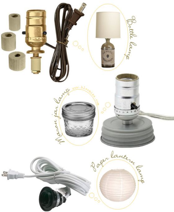 Make A Lamp Kit Etc