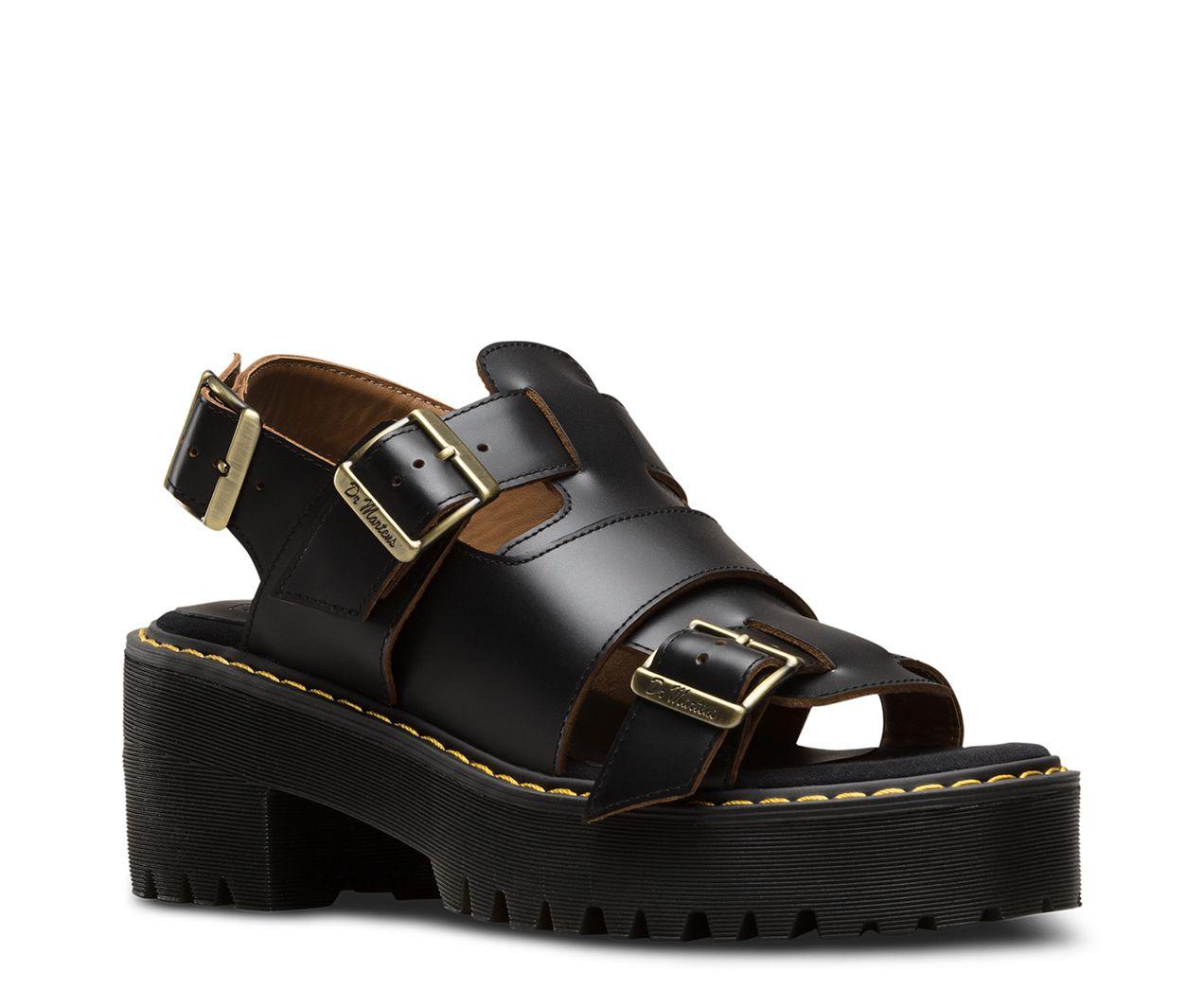 Dr martens ariel vintage smooth | Dr martens sandals