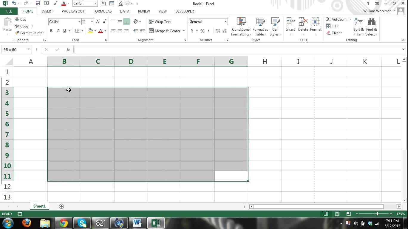 Ms Excel Tutorial For Beginners Part 1