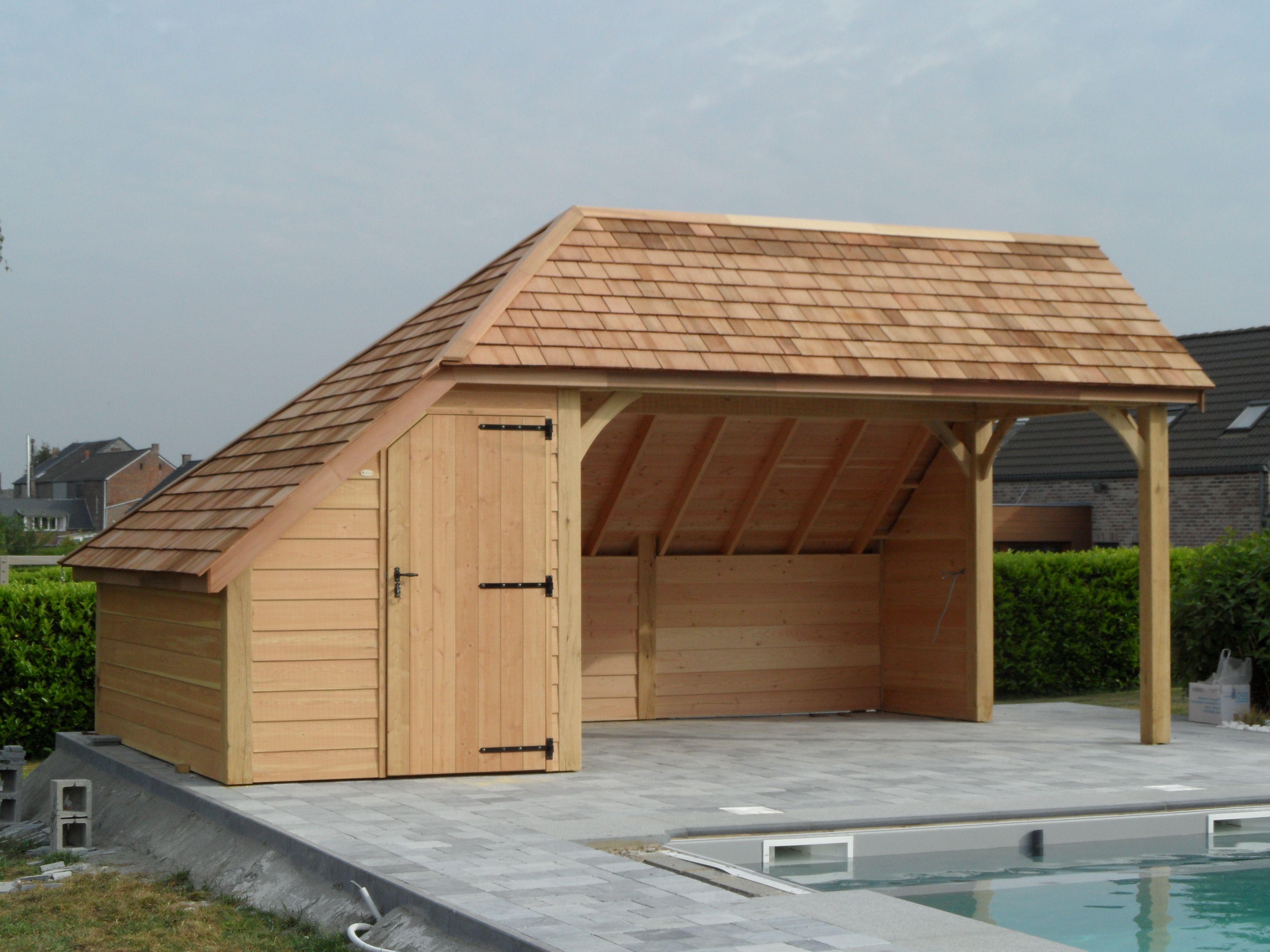 Aménager Un Abri De Jardin destiné l'�laboration d'abris � piscine sur mesure ou cabane de jardin