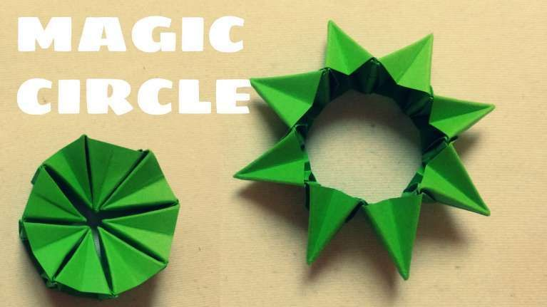 Origami Magic Ball (Dragon's Egg by Yuri Shumakov) - video dailymotion | 431x767