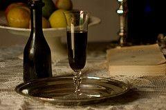 Liquore al cioccolato e caffè