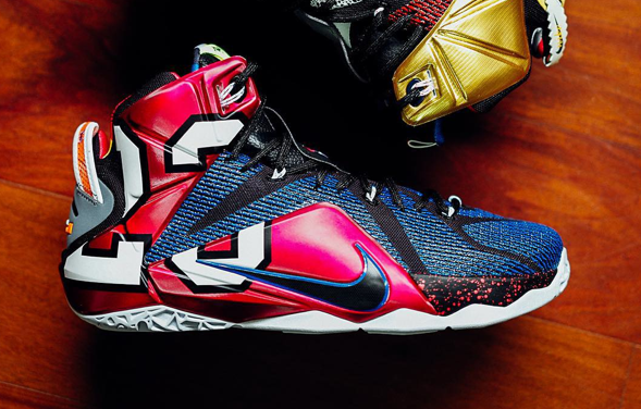 ff0da55f11a1 Nike LeBron 12 What The 1