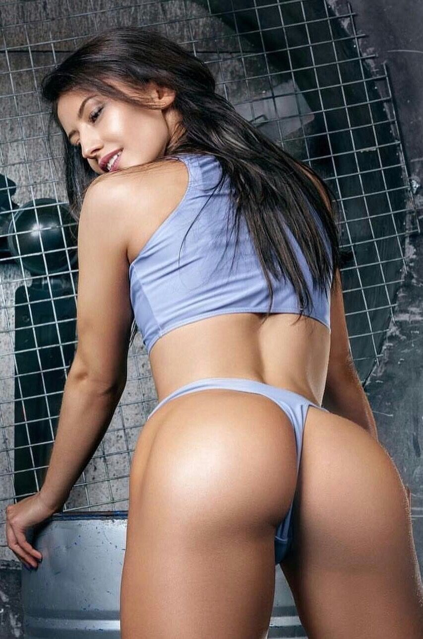 Brunette girls ass