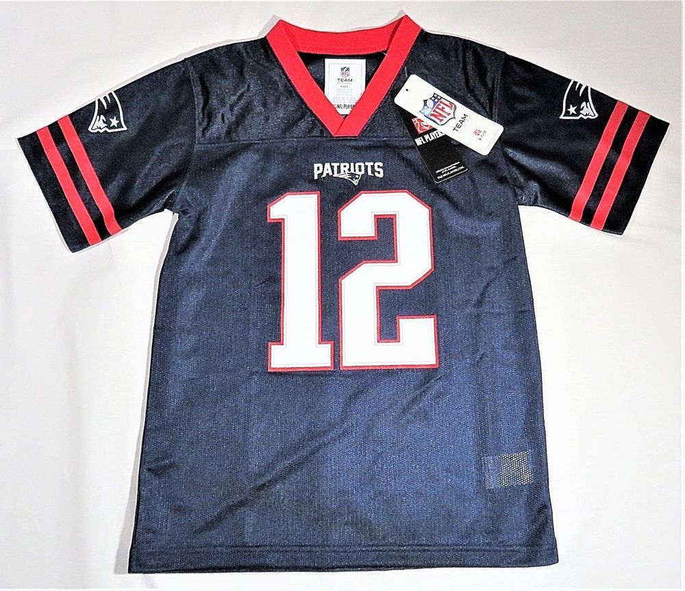 tom brady jersey kids size 7