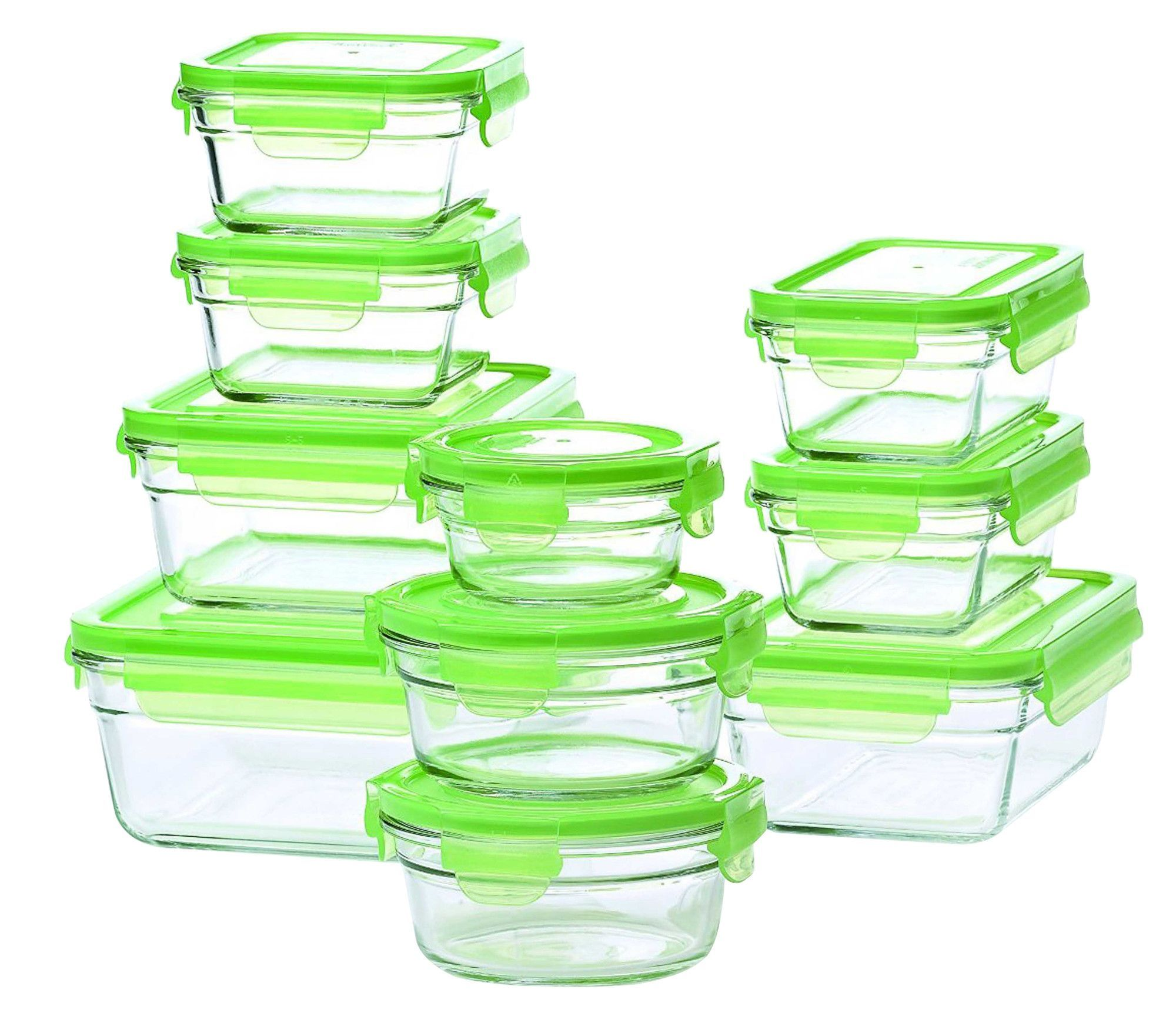 Glasslock 10 Container Food Storage Set Glass Food Storage Containers Food Storage Glass Food Storage