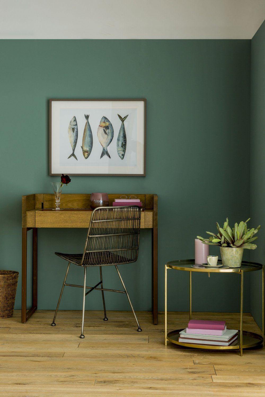 Decouvrez Les Tres Tendance Nouvelles Couleurs De Flamant By Tollens Decoration Salon Vert Couleur Mur Salon Deco Maison