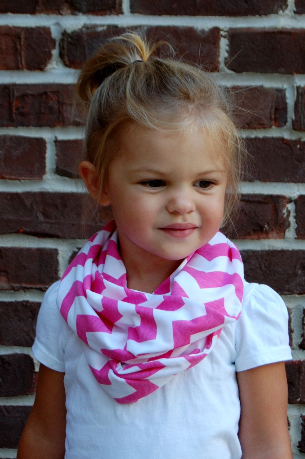 Chevron+with+White+Toddler+Tube+Infinity+Scarf+by+BundleUpBuddy,+$12.00
