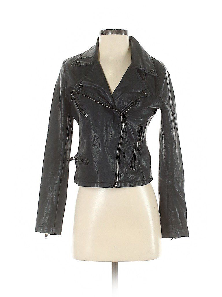 Assorted Brands Solid Black Faux Leather Jacket Size Xs 61 Off Leather Jacket Black Faux Leather Jacket Faux Leather Jackets [ 1024 x 768 Pixel ]