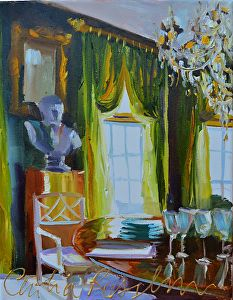 CECILIA ROSSLEE - GREEN ROOM