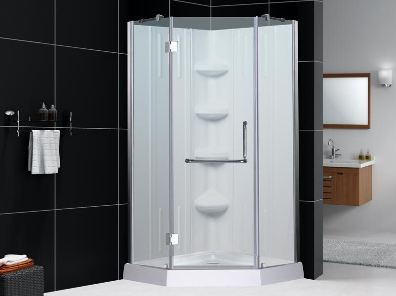Shower Stall Kits By Sterling Small Kitchens Bathrooms