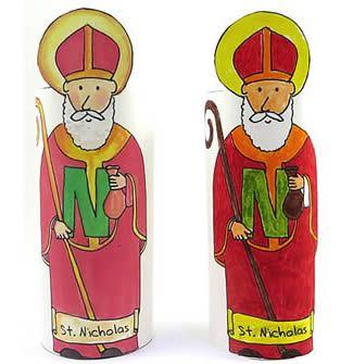 St Nicholas figure