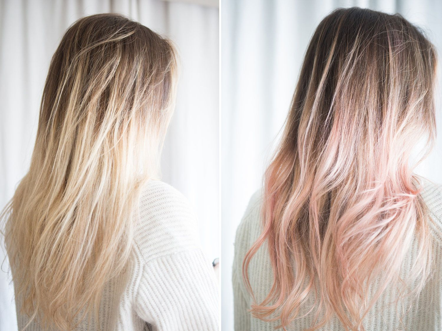 Test Lab Kristen Ess For Target Rose Gold Tint Blog Design Confetti Hair Tint Sporty Hairstyles Creative