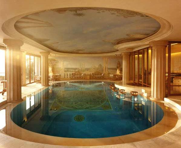 Inside Pool need a good indoor pool. i like the classical greek/roman style
