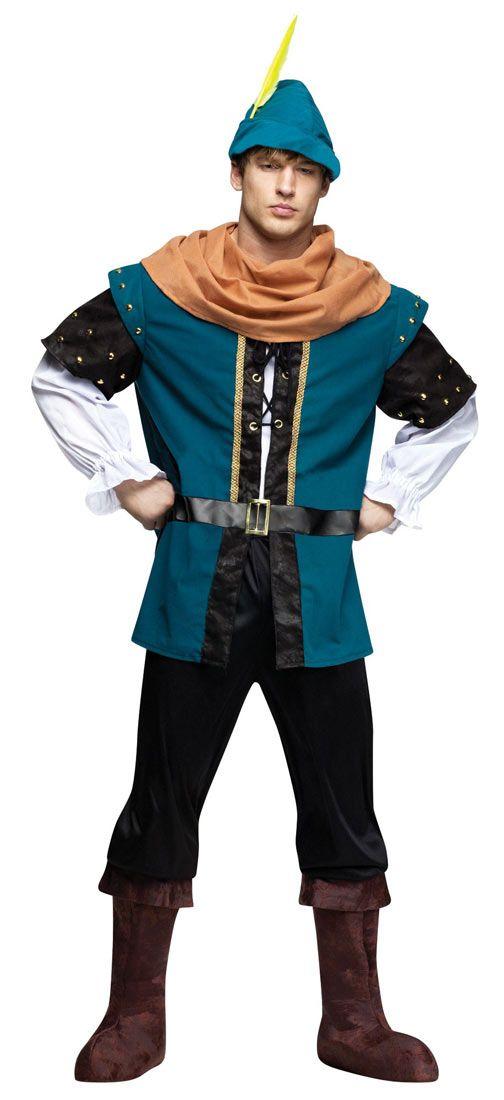 Mens Robin Hood Costume - Robin Hood Costumes  sc 1 st  Pinterest & Mens Robin Hood Costume - Robin Hood Costumes | Costumes | Pinterest ...