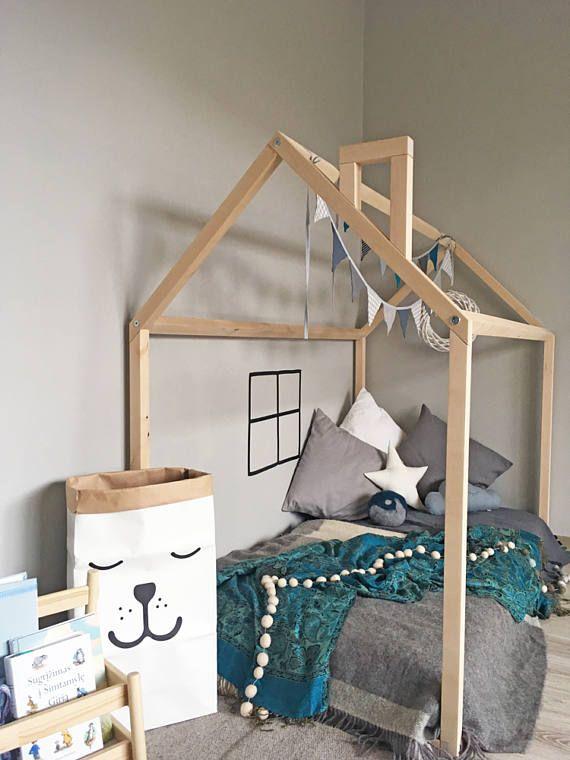 Letto Montessori.Usa Size 160x70 Montessori Bed Discounted Letto Montessori House