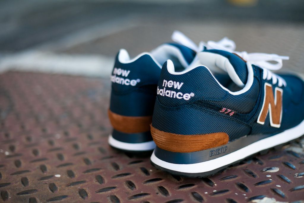 New Balance 574 Backpack Sneaker. Try to learn how to wear