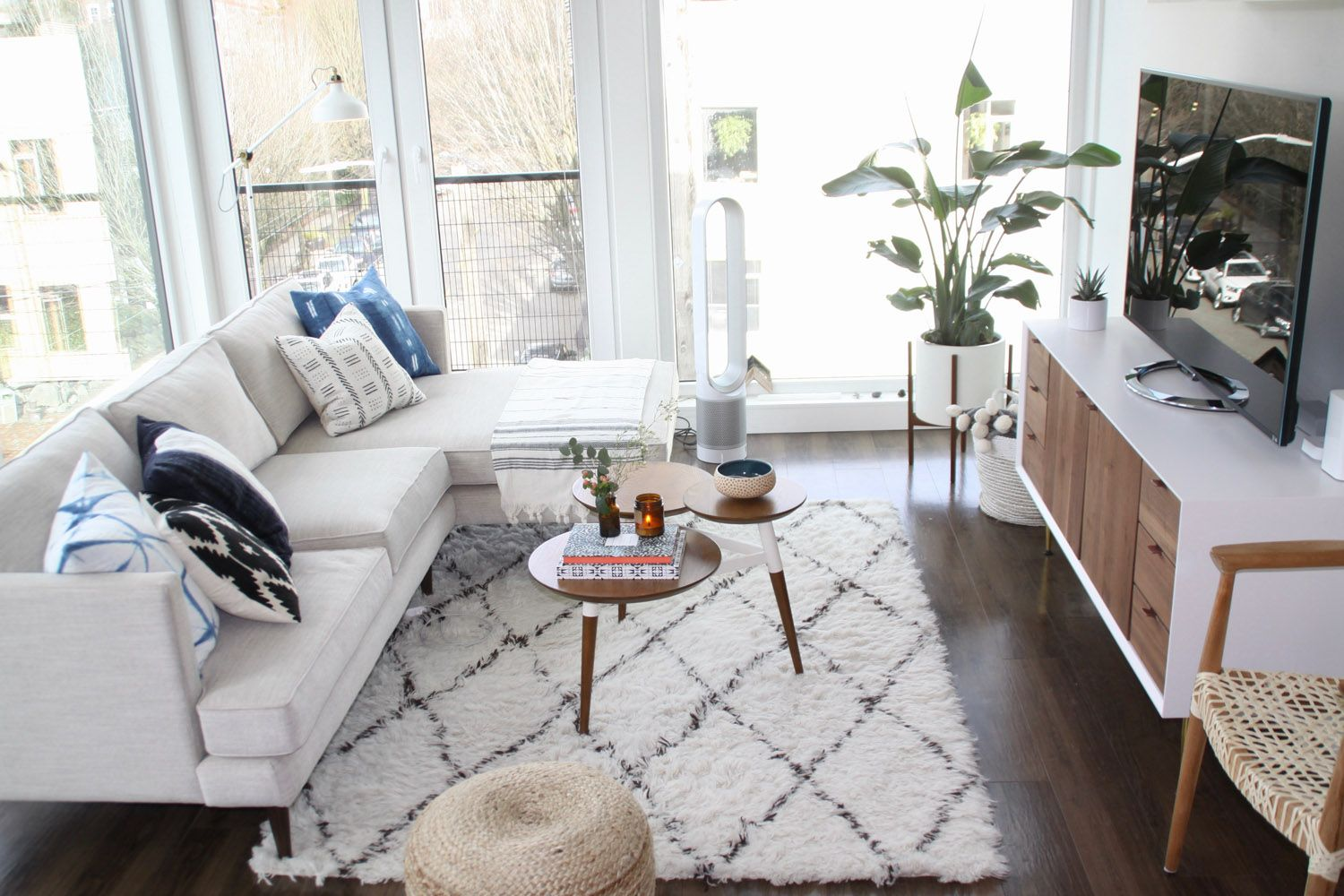 West Elm A Minimal Boho Modern Small Apartment In Seattle
