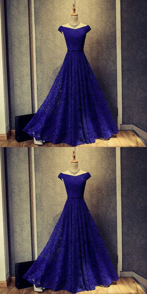 d23e1b269d Hot Sale Splendid Blue Prom Dresses Royal Blue Floor Length Off Shoulder Prom  Dresses Evening Dresses