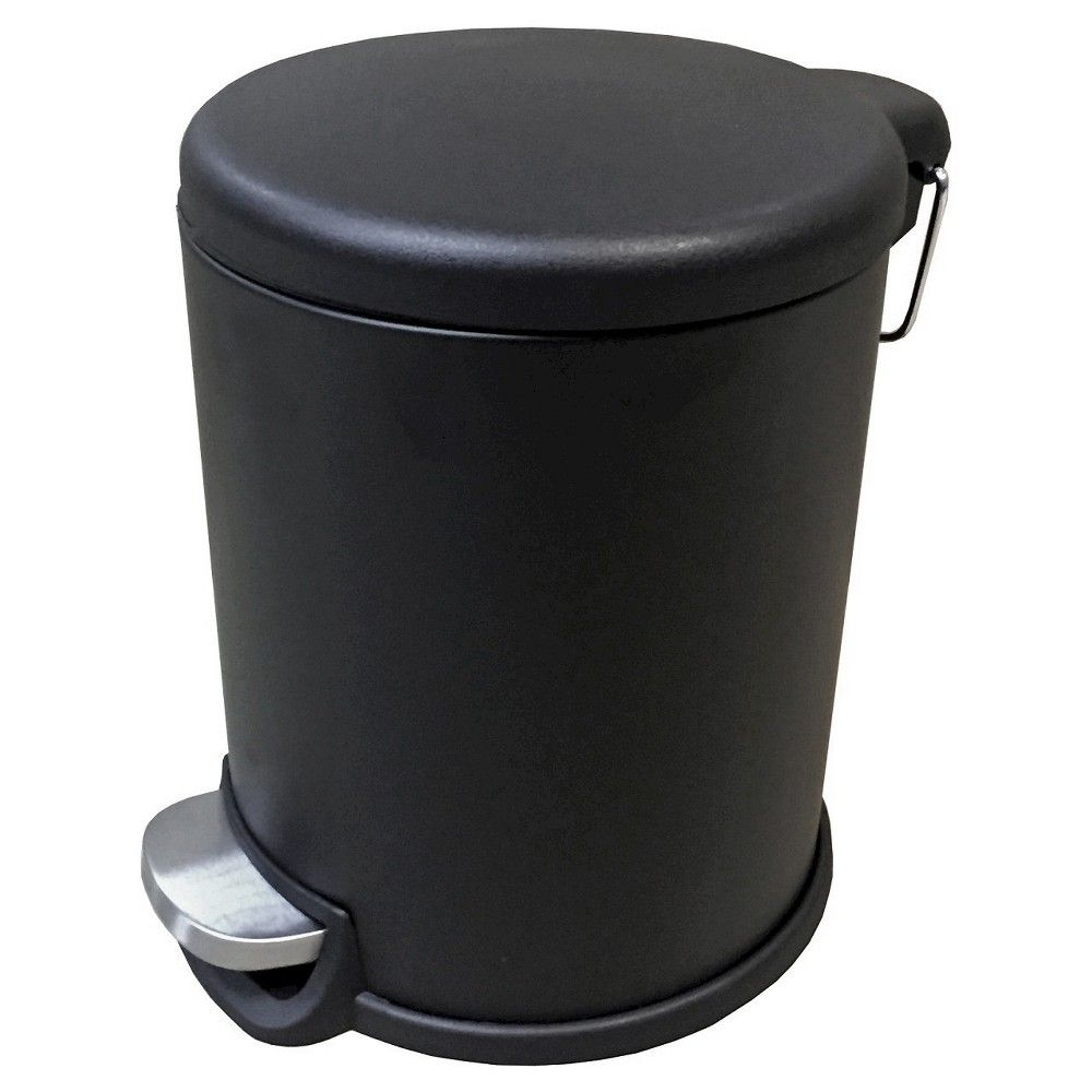 5L Trash Can - Black - Room Essentials, Matte Black ...