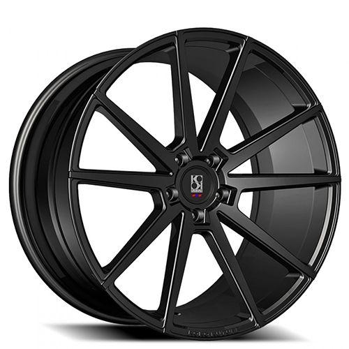 "20"" 22"" Giovanna-Koko Kuture Wheels Le Mans Black Rims"