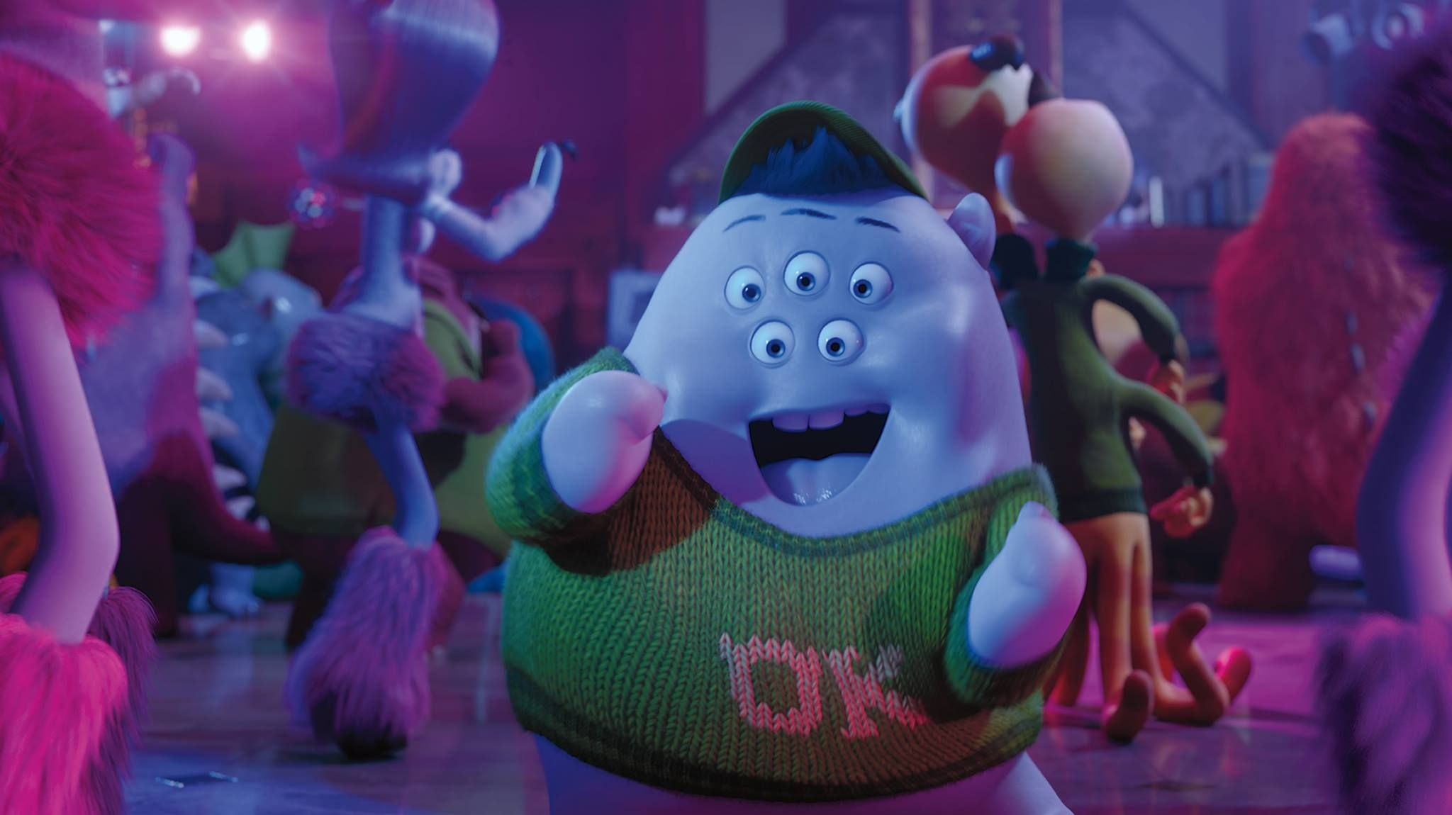 Your First Look At Pixar S New Short Party Central News Monster University Squishy Monsters University Pixar Characters