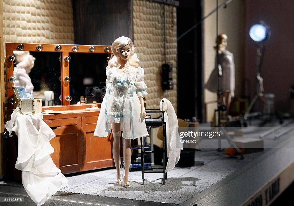 A Barbie doll is displayed during the exhibition 'Barbie, life of an icon' at the Museum of Decorative Arts as part of the Paris Fashion Week Womenswear Fall/Winter 2016/2017 on March 9, 2016 in Paris, France. More than 700 Barbie dolls are displayed during the exhibition which takes place from March 10 to September 18, 2016.