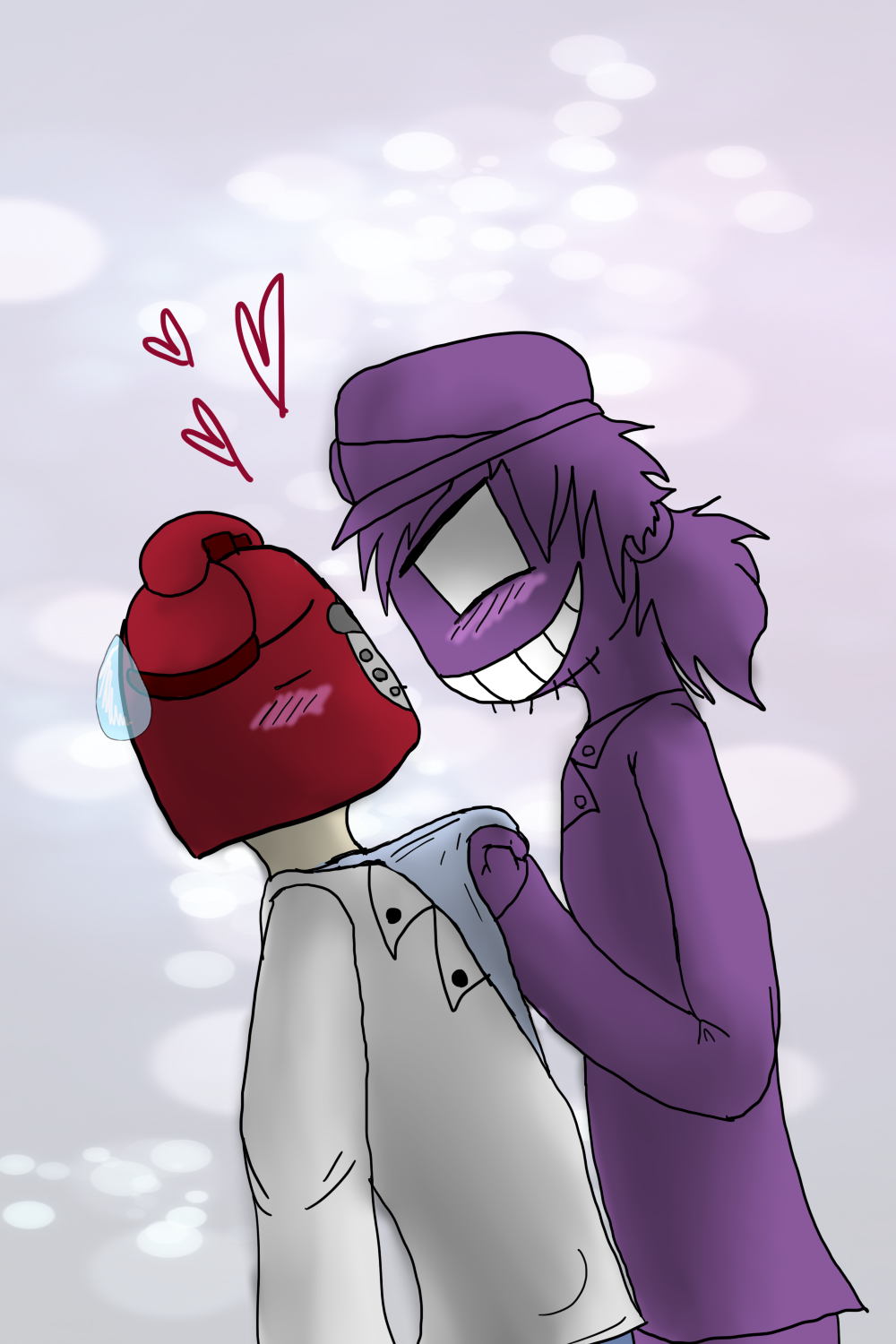 Phone guy x purple guy fanfic lemon - Phone Guy X Purple Guy