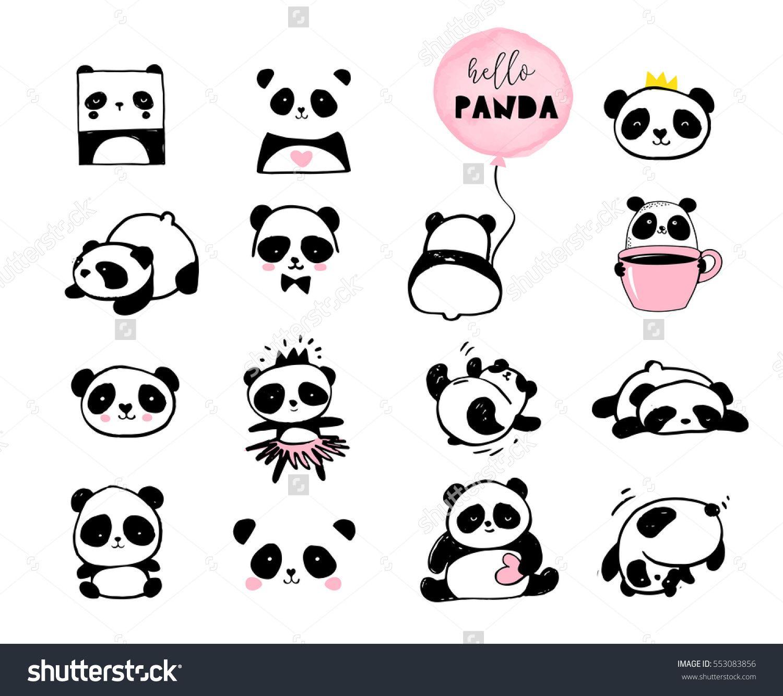 Image by Shutterstock Cute Panda Waving His Hand  Men/'s Tee