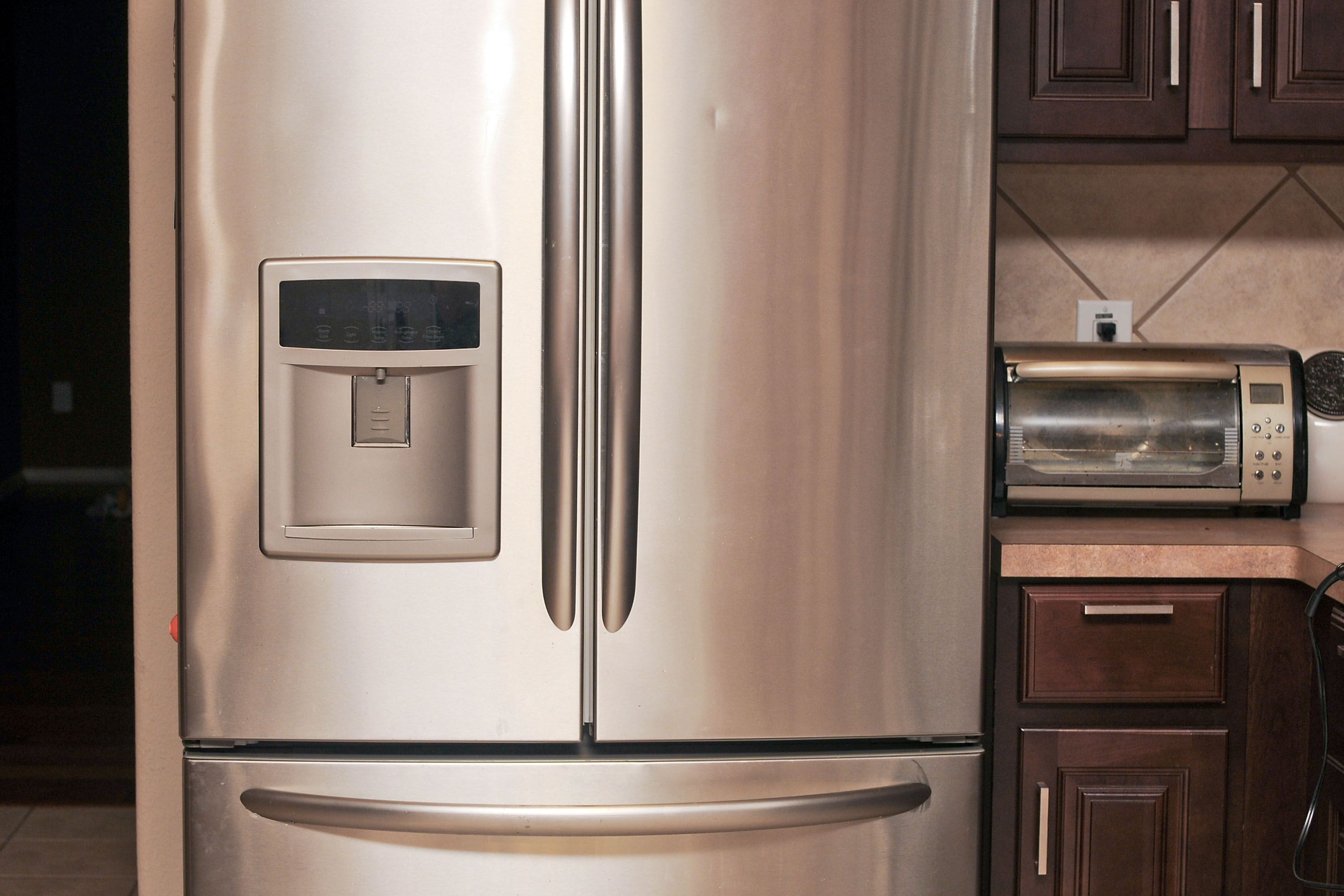 How To Fix A Dent On Stainless Steel Fridge Cleaning