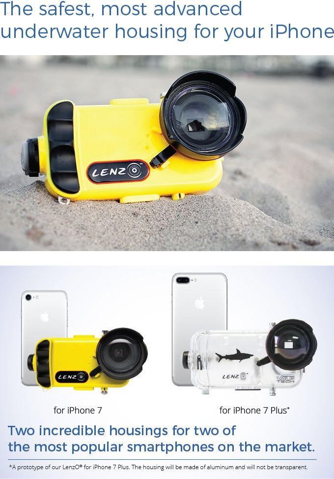 buy online f5f60 1b6e5 The safest and most advanced underwater smartphone housing, now for ...