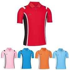 Mens Womens Quick Dry Coolmax PK Golf Tennis Collar Polo Tshirts Top Shirt 9006