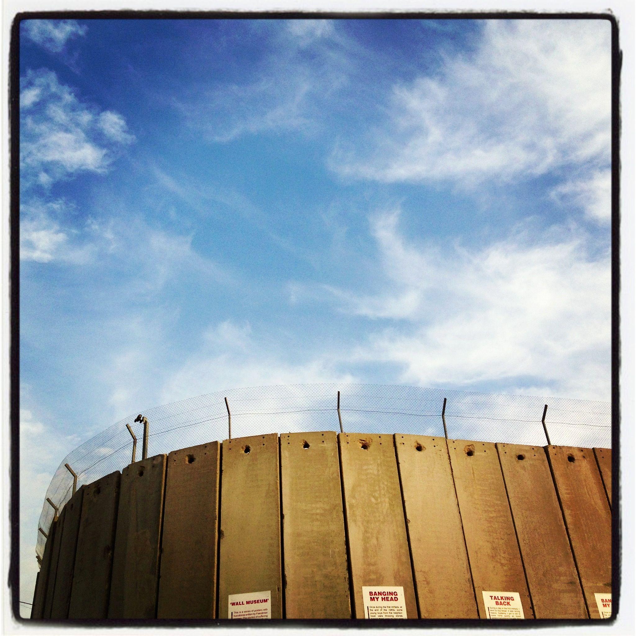 Wall beetwen Palestine and Israel