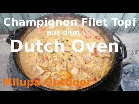 "Photo of ""Champignon Filet Topf"" aus dem Dutch Oven, Leckeres ""All in"" Gericht"