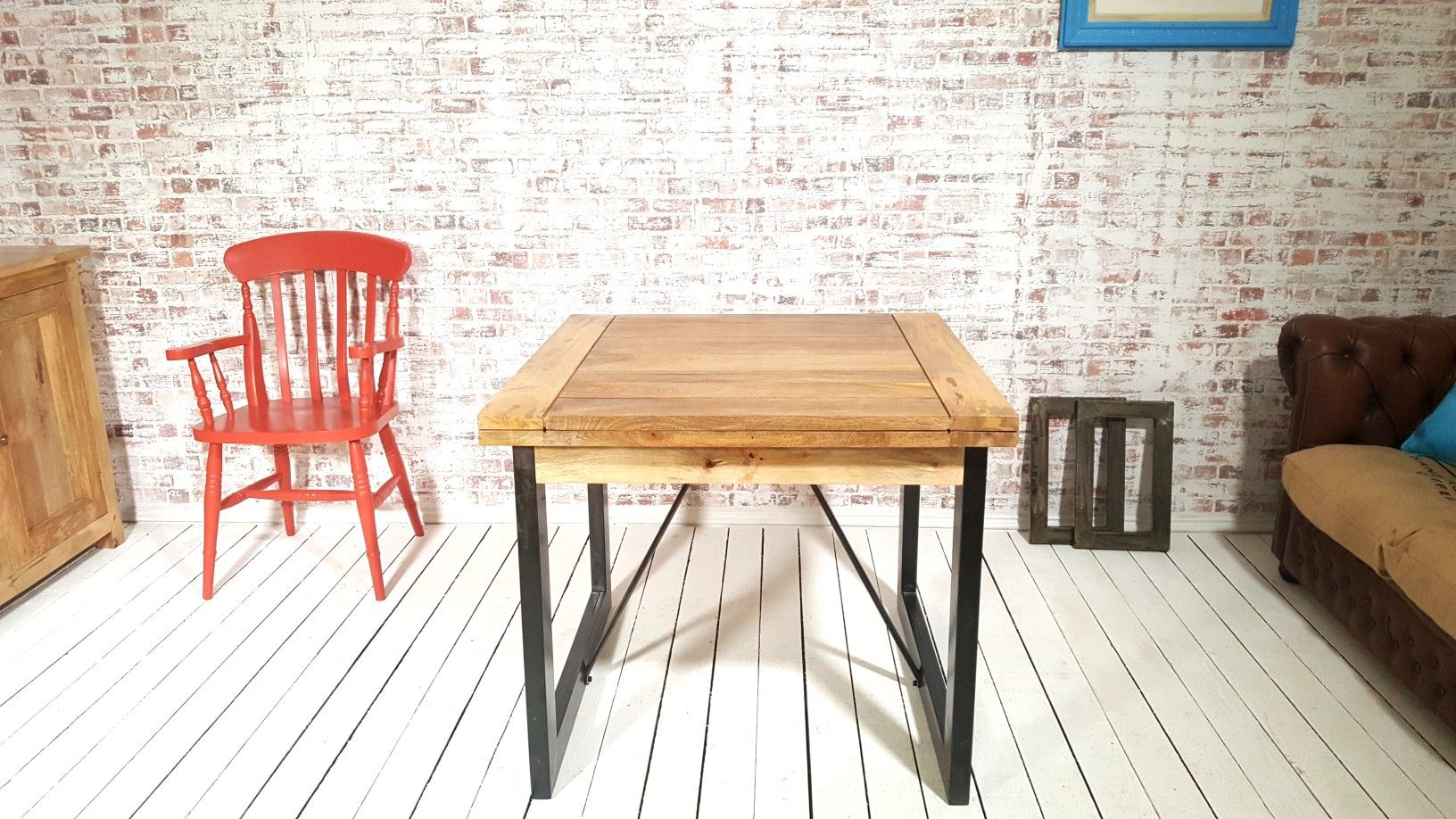 Extending Rustic Folding Dining Table Drop Leaf Space Saving Extendable Table Rustic Dining Table Dining Table