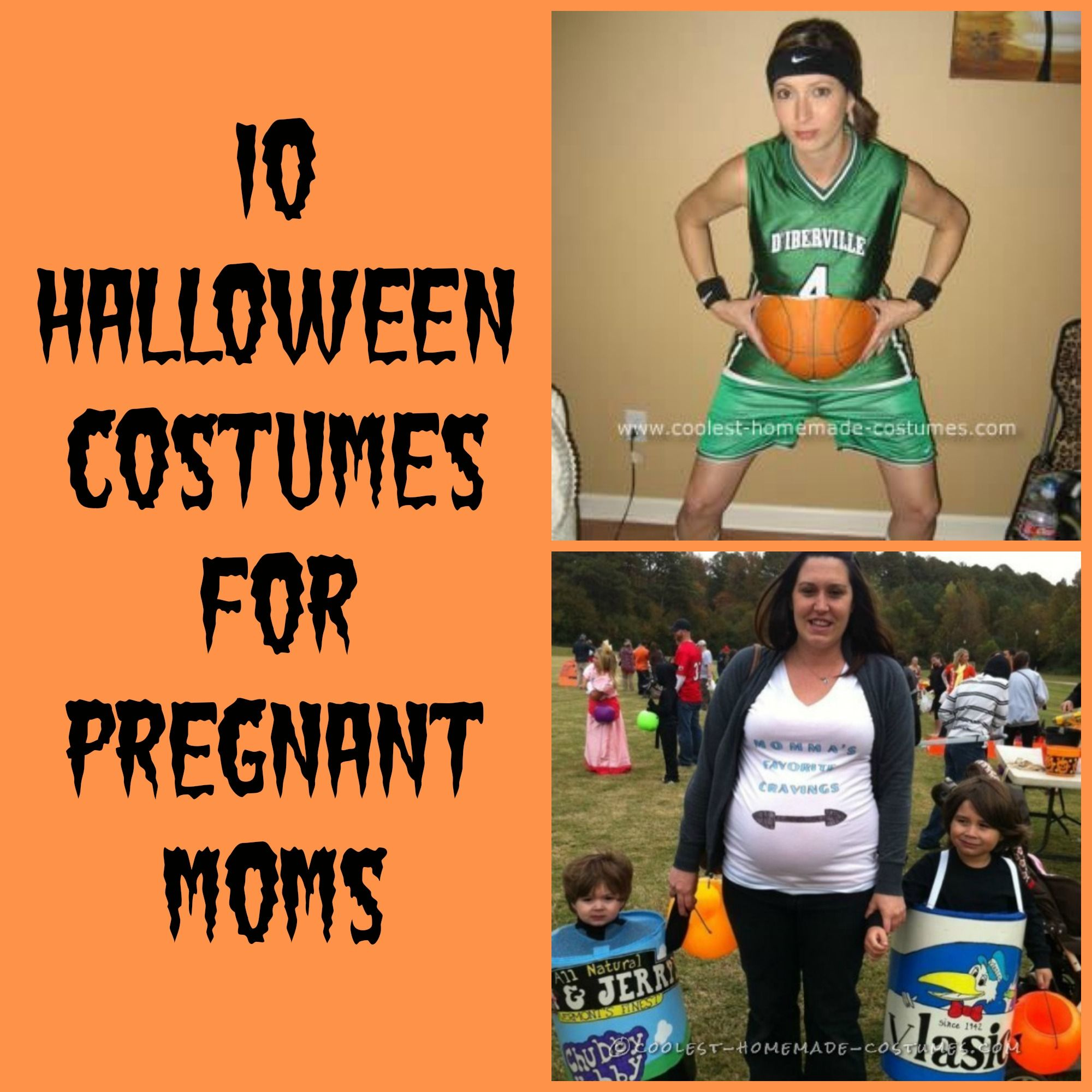 10 Fun Halloween Costumes for Pregnant Moms