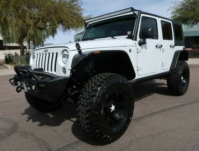 For Sale 2018 Jeep Wrangler Unlimited Sport Lifted 37inch