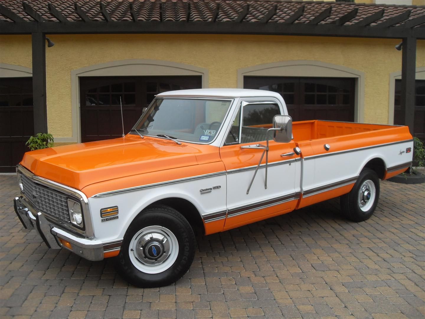 1972 chevrolet longhorn pickup 400 ci automatic presented as lot at houston tx 2012