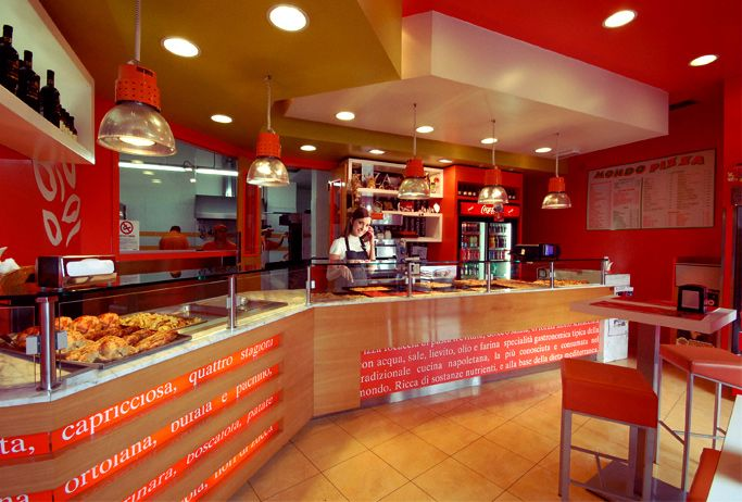 mondo pizza - pizzeria, via acqua bullicante 231, design and made ... - Arredamento Design A Roma