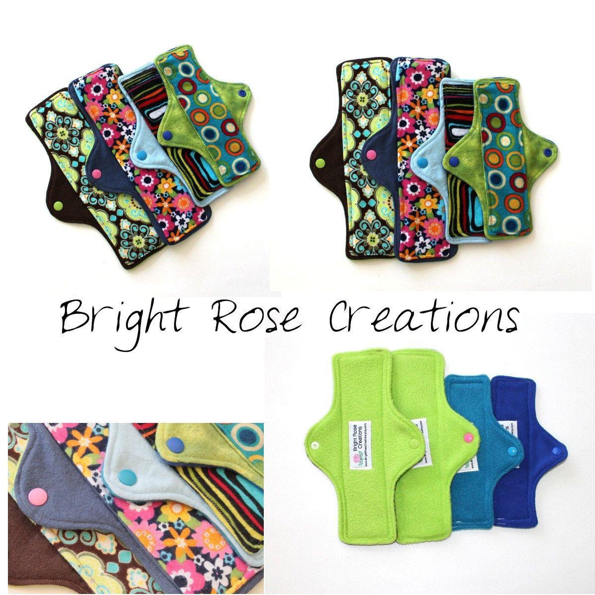 Diy Cloth Pads Tutorial: Mama Cloth Pad PDF Pattern, Sewing Pattern, Do It Yourself