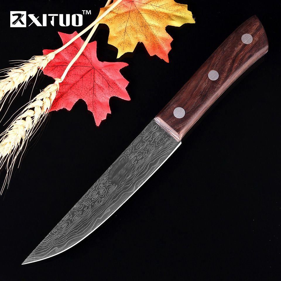 Us 13 90 Xituo Best Japanese Kitchen Knives 440c Damascus Steel 440c Best Damascus Japanese Kitchen Knives Steel Xituo
