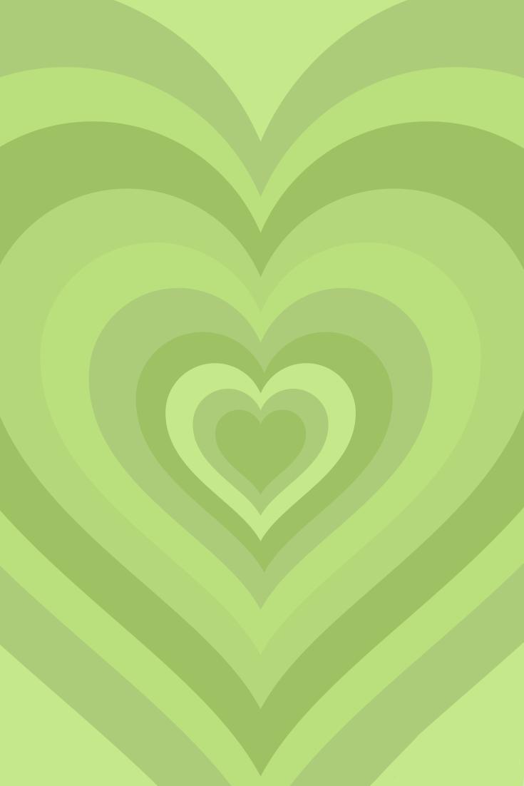 Wildflower Inspired Green Heart Wallpaper In 2021 Hippie Wallpaper Phone Wallpaper Patterns Cute Patterns Wallpaper