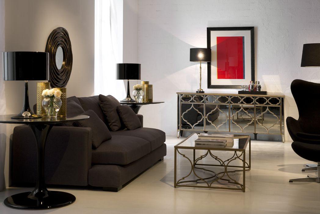Exquisita decoraci n de espacios dise os exclusivos en - Salones estilo colonial moderno ...