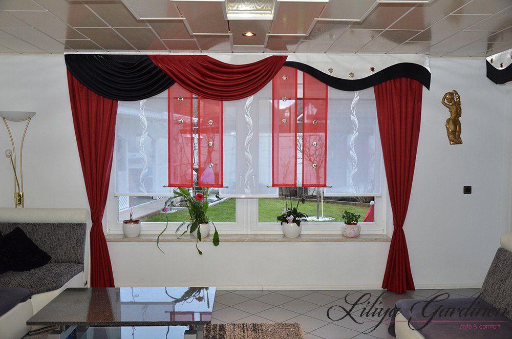 Scheibengardinen Wohnzimmer ~ Wohnzimmer « gardinen liliya gardinen gardinen