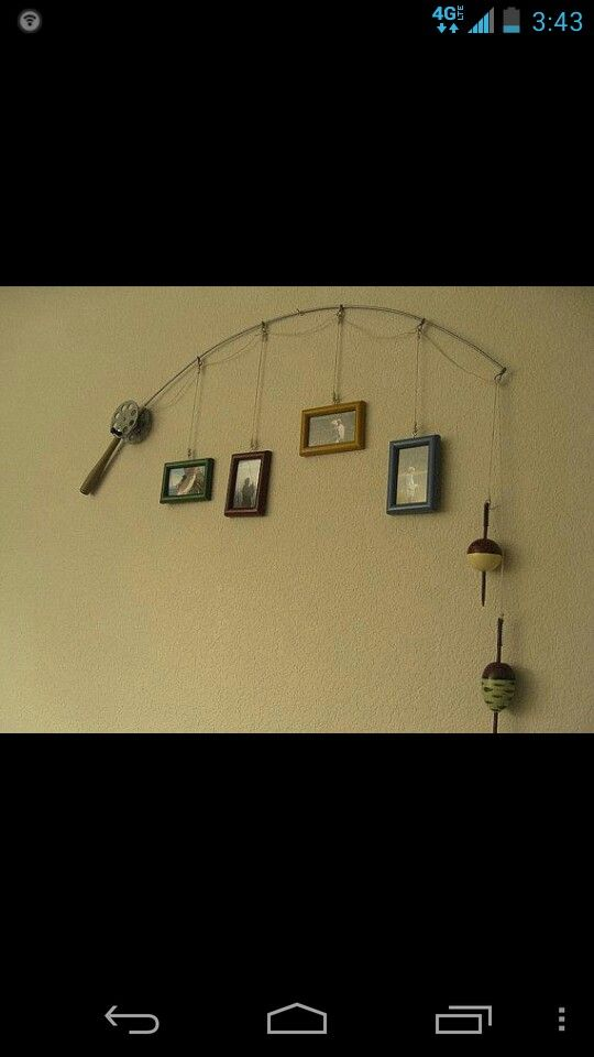 Fishing Pole Decor Little Man Needs This To Make His Room More Manly