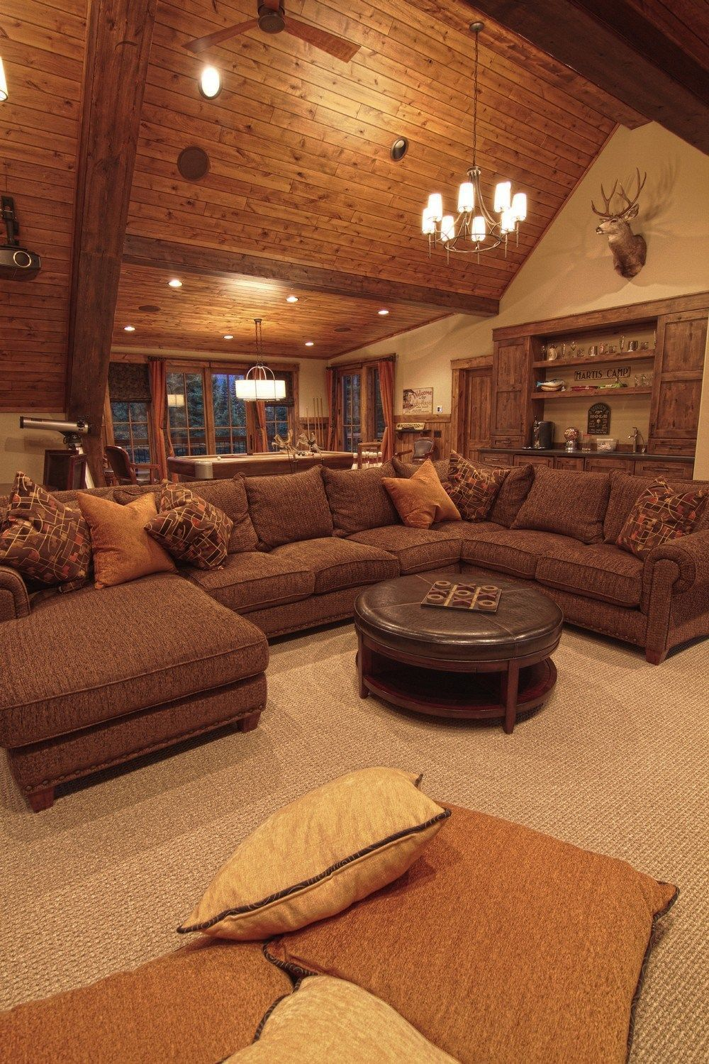 30 rustic log cabin design inspirations interiores de cabaa 30 rustic log cabin design inspirations wartaku aloadofball Image collections