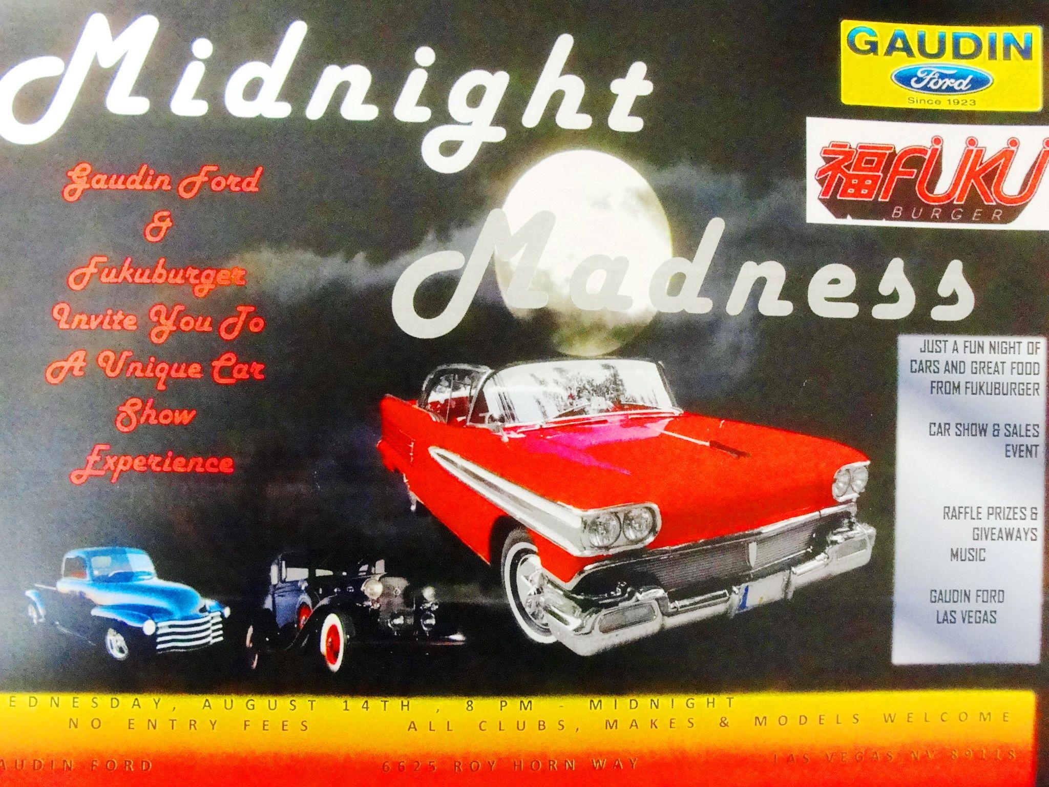 Midnight Madness Car Show & Sales Event
